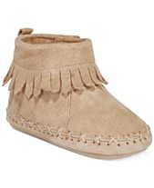 88cb4e5deb385 Robeez Cozy Ankle Moccasins, Baby Girls & Baby Boys