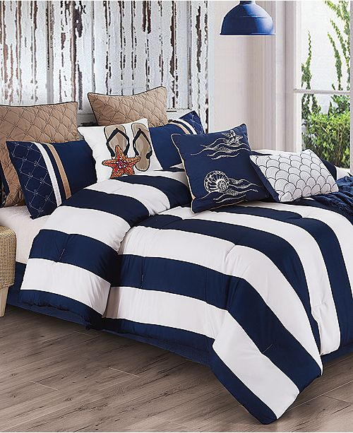 Hallmart Collectibles Copa 10-Pc. California King Comforter Set