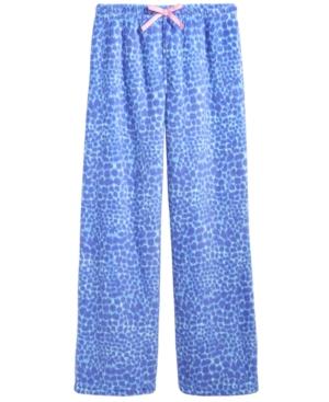 Calvin Klein Plush Printed Pajama Pants Little Girls (46X)  Big Girls (716)