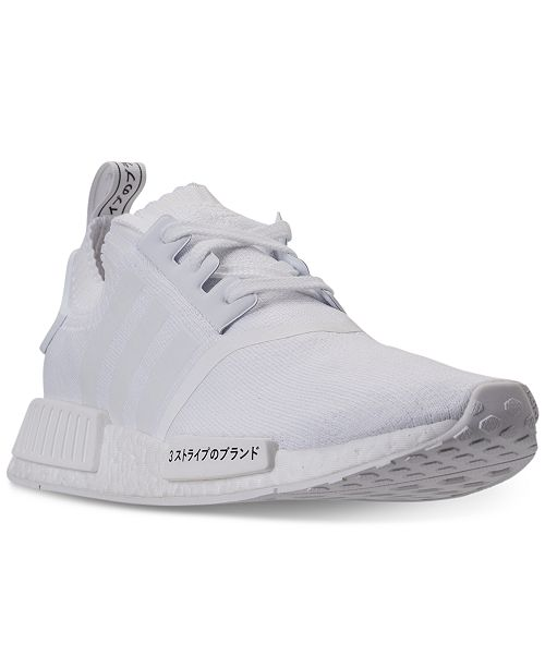 374c48c55b86 adidas Men s NMD R1 Primeknit Casual Sneakers from Finish Line ...
