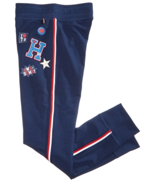 Tommy Hilfiger Embroidered  Patch Jogger Sweatpants Big Girls (716)