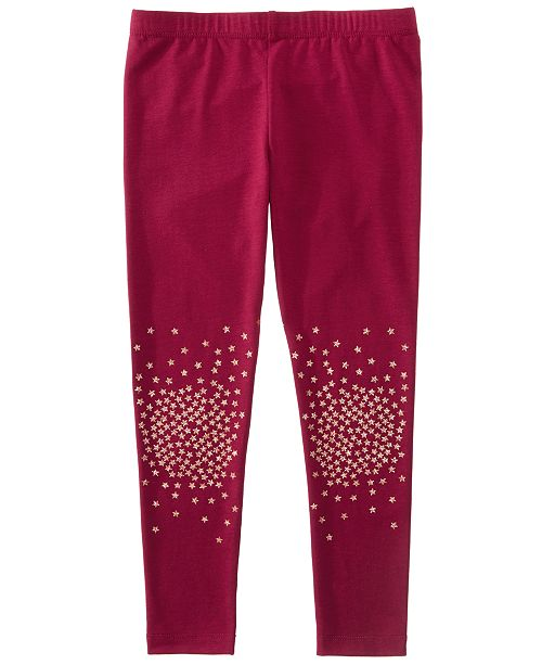 Epic Threads Mix and Match Glitter Knee Leggings, Toddler Girls, Created for Macy's