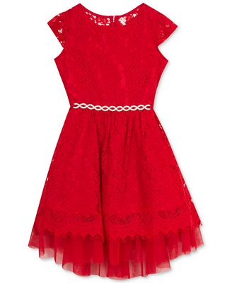 Rare Editions Lace Dress, Toddler Girls (2T-5T), Created for ...