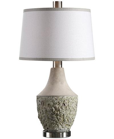 Uttermost Veteris Concrete Design Lamp