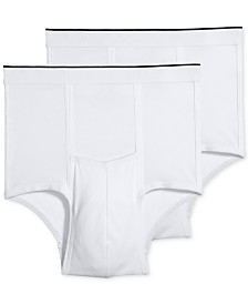 Jockey Men's Big Man 2-Pack Pouch Briefs