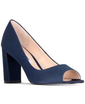 Nina  FARLYN PEEP-TOE PUMPS WOMEN'S SHOES