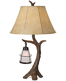 Pacific Coast Mountain Wind Table Lamp