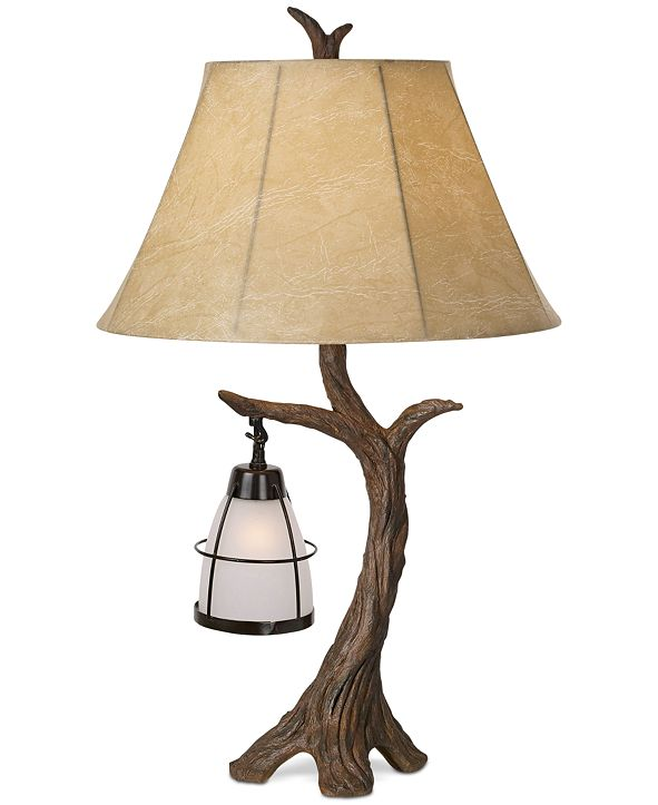 Kathy Ireland Pacific Coast Mountain Wind Table Lamp
