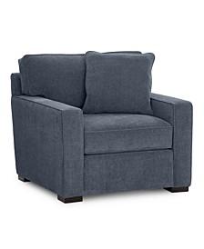 """Radley 38"""" Fabric Armchair, Created for Macy's"""