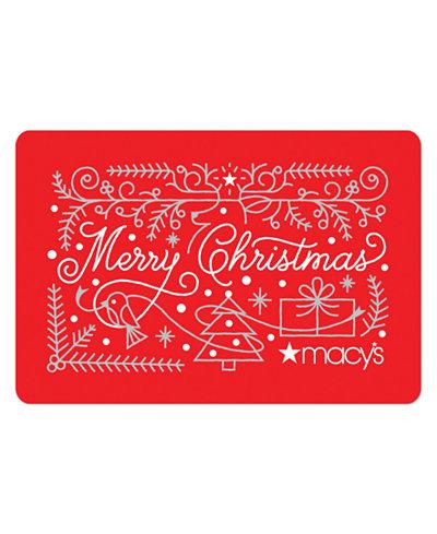 Merry Christmas E-Gift Card