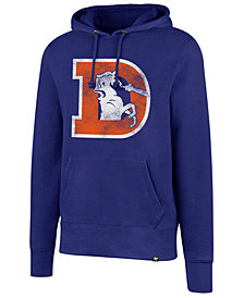 '47 Brand Men's Denver Broncos Retro Knockaround Hoodie