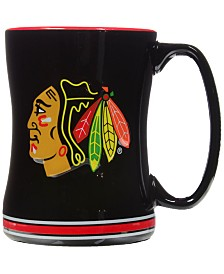 Chicago Blackhawks 15 oz. Relief Mug