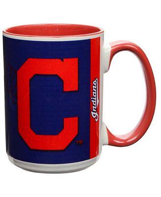 Cleveland Indians 15oz Super Fan Inner Color Mug