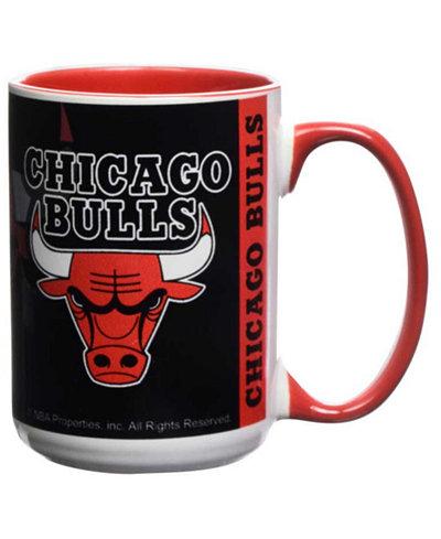 Chicago Bulls 15oz Super Fan Inner Color Mug