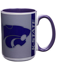 Kansas State Wildcats 15oz Super Fan Inner Color Mug
