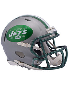 Riddell New York Jets Speed Blaze Alternate Mini Helmet