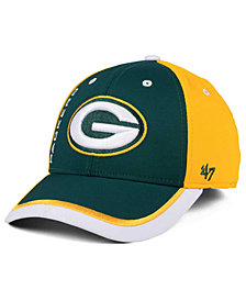 '47 Brand Green Bay Packers Crash Line Contender Flex Cap