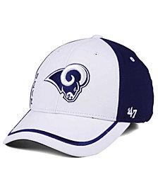 '47 Brand Los Angeles Rams Crash Line Contender Flex Cap