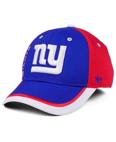 '47 Brand New York Giants Crash Line Contender Flex Cap