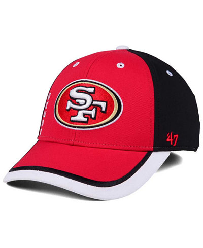 '47 Brand San Francisco 49ers Crash Line Contender Flex Cap