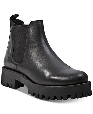 22936594654 Steve Madden Women s Bleeker Ankle Booties   Reviews - Boots - Shoes -  Macy s