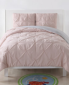 Laura Hart Kids Reversible 2-Pc. Pleated Twin XL Comforter Set