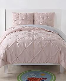 My World Reversible 2-Pc. Pleated Twin XL Comforter Set