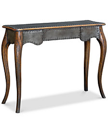 Roarke Industrial Console Table, Quick Ship