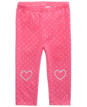 First Impressions Faux SequinHeart Leggings Baby Girls (024 months) Created for Macys