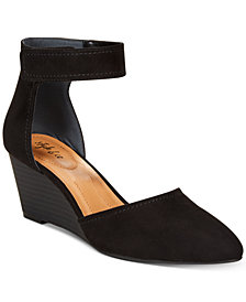 Style & Co Yarah Two-Piece Wedge Pumps, Created for Macy's