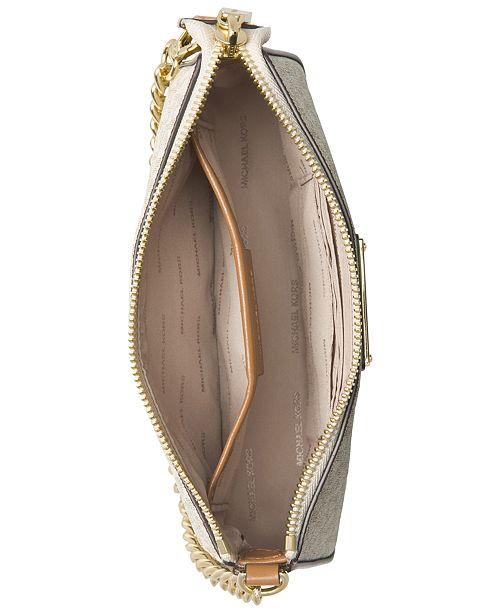 146bd18395be Michael Kors Signature Chain Clutch & Reviews - Handbags ...