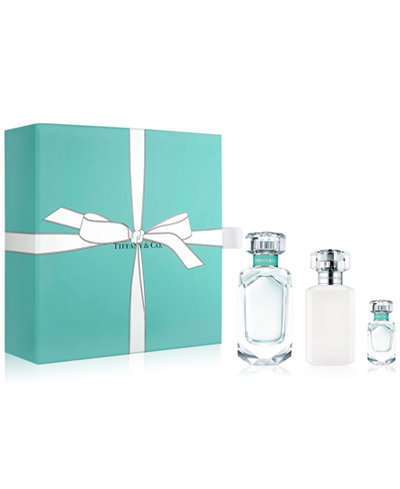 Tiffany co 3 pc gift set created for macys fragrance tiffany co 3 pc gift set created for macys negle Images