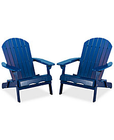 Collyer Adirondack Chairs (Set of 2), Quick Ship
