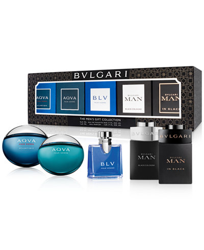 BVLGARI 5-Pc. Men's Gift Set, Created for Macy's