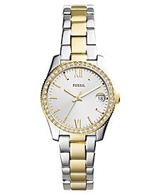 Women's Scarlette Two-Tone Stainless Steel Bracelet Watch 32mm