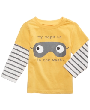First Impressions Cape LayeredLook Cotton TShirt Baby Boys (024 months) Created for Macys