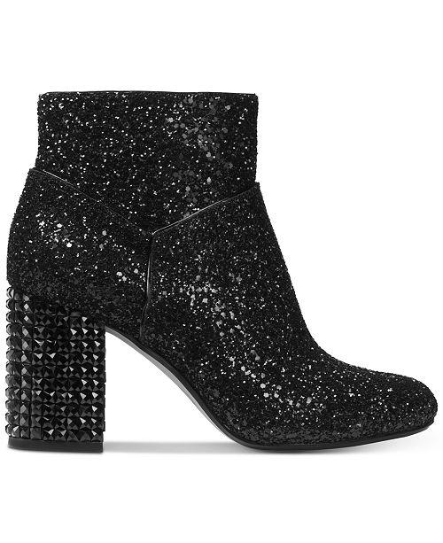 182694e4992ea Michael Kors Arabella Glitter Ankle Booties & Reviews - Boots ...