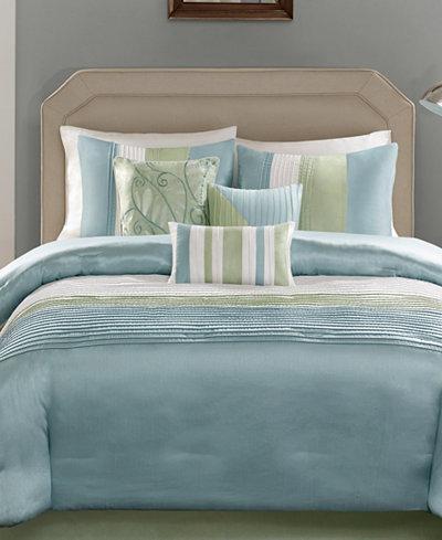 Madison Park Carter 7 Pc Comforter Sets Bed In A Bag