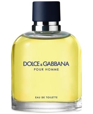 Dolce & Gabbana Men's Pour Homme Eau de Toilette Spray, 4.2 oz.