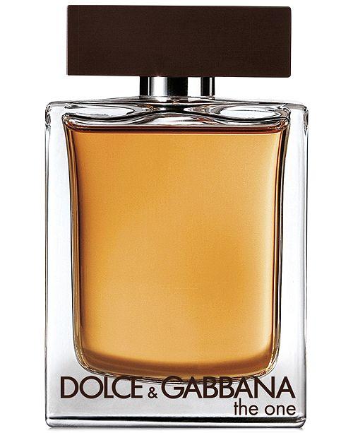 Dolce & Gabbana DOLCE&GABBANA Men's The One For Men Eau de Toilette Spray, 5 oz.