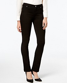 INC Petite Black Bootcut Jeans, Created for Macy's