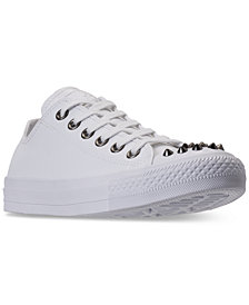 Converse Women's Chuck Taylor Ox Stud Casual Sneakers from Finish Line