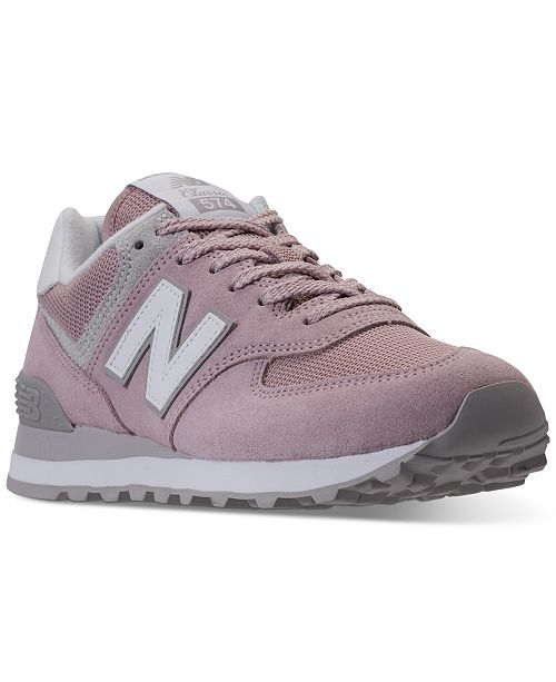 340d2a52dbe34 New Balance Women's 574 Casual Sneakers from Finish Line ...