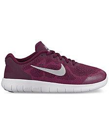 Nike Big Girls' Free Run 2 Running Sneakers from Finish Line