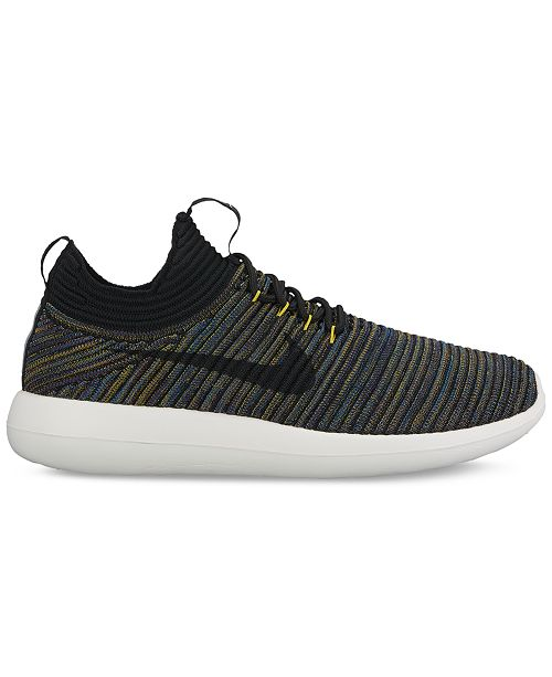 fe549427cb403 ... Nike Women s Roshe Two Flyknit V2 Casual Sneakers from Finish ...