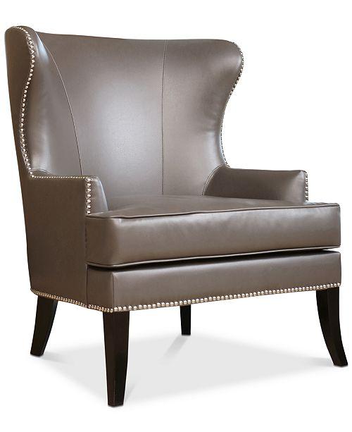 Abbyson Living Estevez Leather Armchair