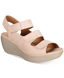 Clarks Women's Reedly Juno Wedge Sandals