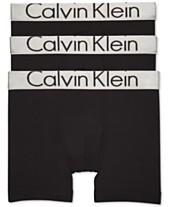 Calvin Klein Men s 3-Pk. Steel Waistband Boxer Briefs 8cf6e42bf7