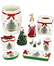 Avanti Christmas Tree Bath Collection