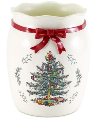 Spode Christmas Tree Wastebasket